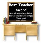 Best Teacher Award Desk Section