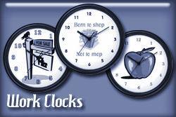Occupation Wall Clocks