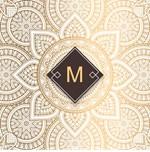 Elegant Gold Arab Mandala