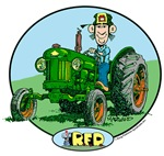 R.F.D. Green Tractor