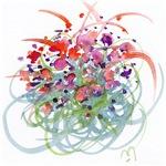 Atom Flowers #16