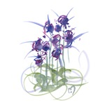 Atom Flowers #39