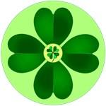 Dotty Irish Shamrocks