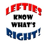 Lefties know what's Right!