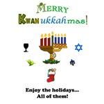 Merry Kwanukkahmas!