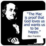 Ben Franklin: Mac lover