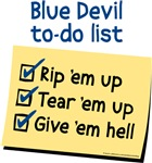 Rip 'em up, Blue Devils!