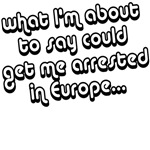 arrested in Europe