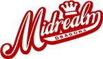 Midrealm Red and White Retro