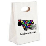 Canvas Lunch  Totes