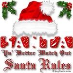 Santa Rules Christmas