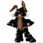 Bunny Biker Rabbit for Kids