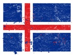 Icelandic Flag (Punk)