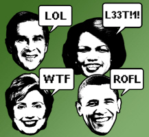 Web Jargon Politicians