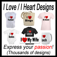 I Love / I Heart Designs