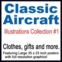 Classic Aircraft Illustrations