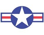 US USAF Aircraft Star