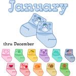 Baby Socks Due In...