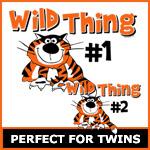 Wild Thing Twins Matching Sets