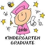Cute Girl Kindergarten Grad 2010