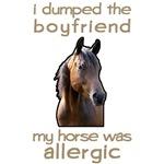 Boyfriend Allergic Horse