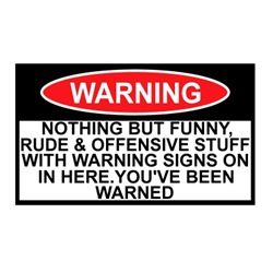 T shirts online with funny warning sign design