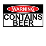 Warning sign Beer Shirts for Beer Drinkers