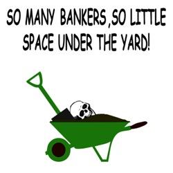 Anti bankers shirt for anti bank folk