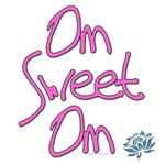 Om Sweet Om with Lotus