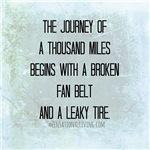Journey Thousand Miles (Funny Zen)