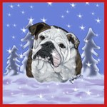 Christmas & Holiday English Bulldog Design