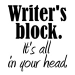 Writer's Block T-shirts & Gifts