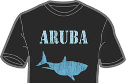 Retro Aruba Shark