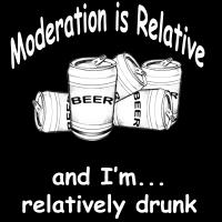 Moderation Is Relative