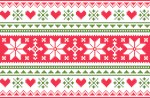Merry Christmas pattern 3