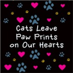 Cats Leave Paw Prints on Our Hearts