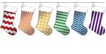 Rainbow Christmas Stockings