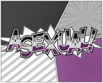 Halftone Asexual Typography