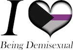 I Heart Being Demisexual