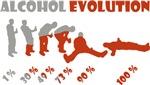 Alcohol evolution