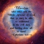 The Whole Armour of God [Eye of God]