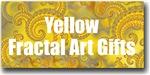 Yellow Fractal Art Gifts