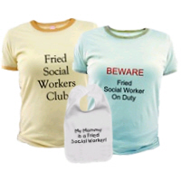Fried Social Worker® Stuff