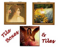 Angel Tiles & Tile Boxes