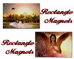 Angel Rectangle Magnets