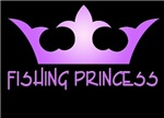 Fishing Princess - Purple