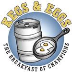 Kegs & Eggs (light shirt)