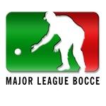 Italian Club logo with Major League Bocce on Back