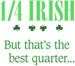 1/4 Irish