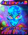 Alienwear's Classic Alien Face Design